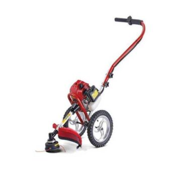 Two Wheel Petrol Operated Hand Push Lawn Mower (Grass Cutter)