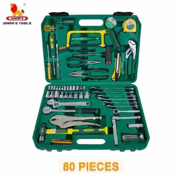 80 pcs. Machine Maintenance Tool Kit Set Wynn's Brand W080