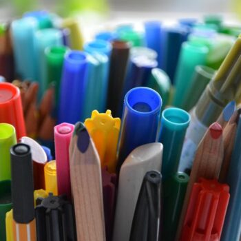 Pens Pencils and Markers