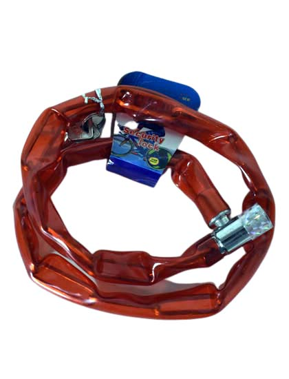 Red Color Bicycle Chain Lock At Best Price in Bangladesh - fixit.com.bd