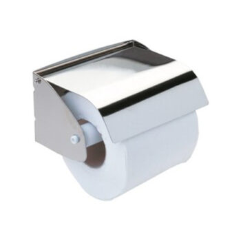 Stainless Steel Toilet Roll Holder With Cover - Best Price BD - fixit.com.bd
