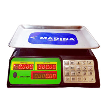 40kg Digital Weight Scale Stainless Body Madina Brand Price BD - fixit bd