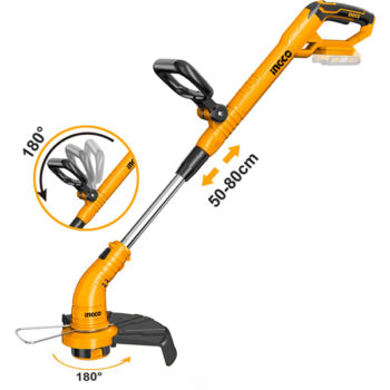 20V 300mm Cordless Lithium-Ion Industrial Grass Trimmer Ingco - fixit bd